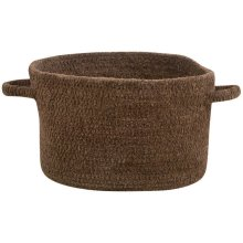 Brown Chenille Creations Basket