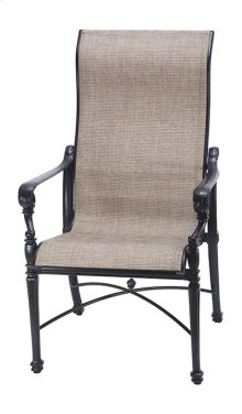 Grand Terrace Sling High Back Dining Chair