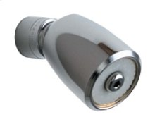 2.5 GPM Max. Flow Rate @ 80 PSI Vandal Proof Shower Head with Ball Joint, 2.5 GPM Max. Flow Rate @ 80 PSI