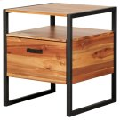 Zachary Night Stand/Side Table, Natural *NEW* Product Image