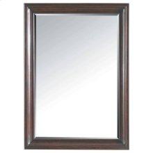 Transitional Landscape Mirror - Polished Sable