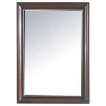 Transitional Landscape Mirror - Polished Sable
