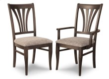 Verona Arm Chair With Wood Seat