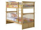 Columbia Bunk Bed Twin over Twin in Natural Product Image