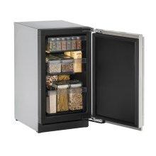 """18"""" Solid Door Refrigerator Integrated Solid Left-Hand Hinge"""