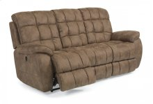Nashua Fabric Power Reclining Sofa