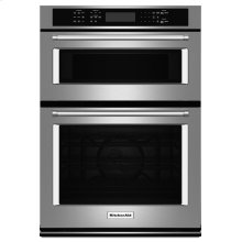 """27"""" Combination Wall Oven with Even-Heat True Convection (lower oven) - Stainless Steel (OPEN BOX CLOSEOUT)"""