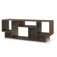 Paragon Club Geometric Entertainment Bookcase