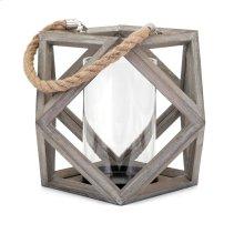 Ares Large Wood Lantern