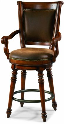 Waverly Place Memory Swivel Bar Stool