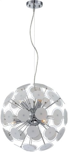 Ceiling Lamp, Glass Shade X42pcs, E12 Type B 40wx6