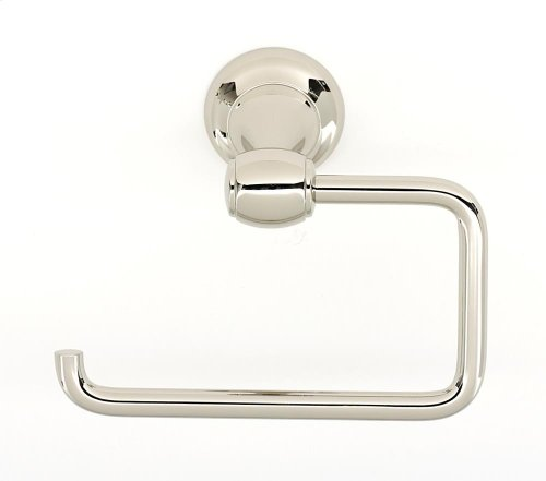 Royale Single Post Tissue Holder A6666 - Polished Nickel