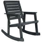 Alexei Rocking Chair - Dark Slate Grey Product Image