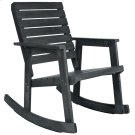 Alexei Rocking Chair - Dark Slate Grey Product Image