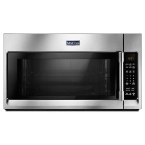 Over-The-Range Microwave With Interior Cooking Rack - 2.0 Cu. Ft. - FINGERPRINT RESISTANT STAINLESS STEEL