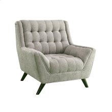 Natalia Mid-century Modern Dove Grey Chair