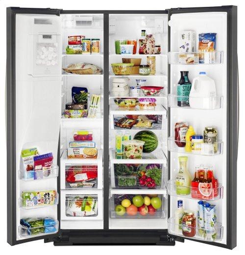 36-inch Wide Side-by-Side Refrigerator - 28 cu. ft.