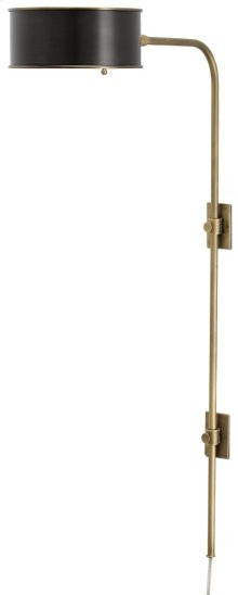 Overture Brass Wall Sconce