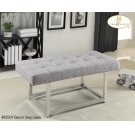 X-Base bench Grey Linen Product Image