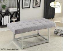 X-Base bench Grey Linen