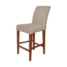 Couture Covers Parsons Barstool Cover in Light Brown