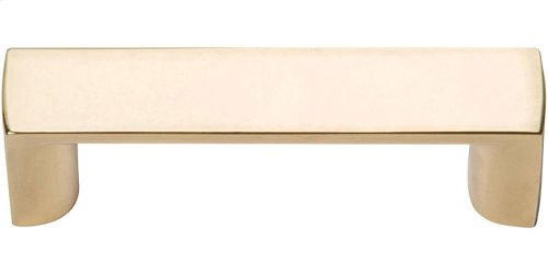 Tableau Squared Handle 1 13/16 Inch - French Gold