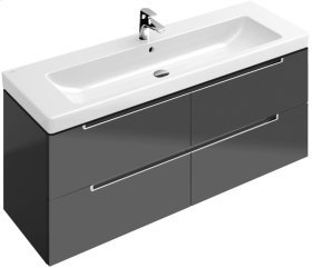 Vanity Unit - Glossy Grey