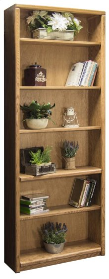 "Contemporary 84"" Bookcase"