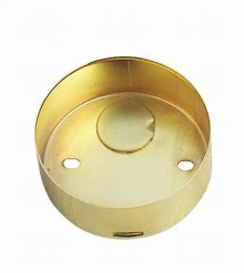 Round surface ring for mini-recess fixture for BO-603 and BO-602