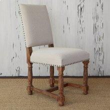 Voranado Side Chair - Swag Flax