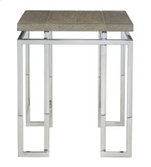 Waverly Side Table in Gray Pearl
