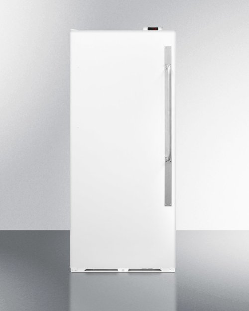 Commercially Approved Frost-free All-refrigerator With Digital Thermostat, Lock, and Left Hand Door Swing