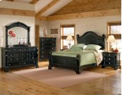 Heirloom Black 5-0 Poster Bed