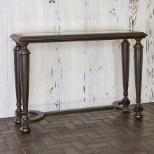 Scrolling Gate Console Table