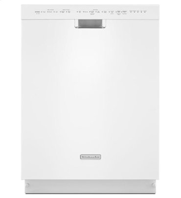 24'' 6-Cycle/6-Option Dishwasher, Pocket Handle - White