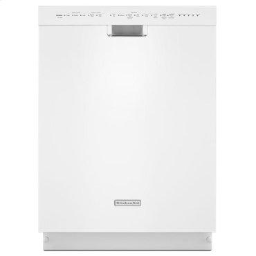 24'' 6-Cycle/6-Option Dishwasher, Pocket Handle - White