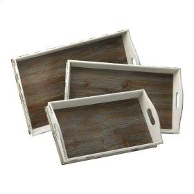 Alder Nesting Trays S/3