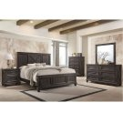 1046 Cimarron Rustic Java Valspar King Bed with Dresser and Mirror Product Image