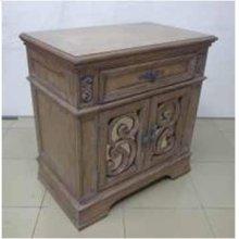 Ilana Traditional One-drawer Nightstand