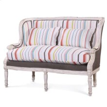 French Wing Settee