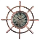 Ship's Wheel Wall Clock Product Image