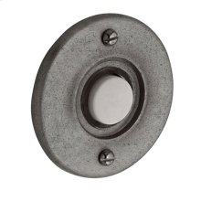 Distressed Antique Nickel Round Bell Button
