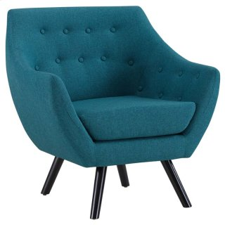 Allegory Armchair in Teal