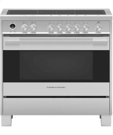 """Induction Range 36"""", Self-Cleaning"""