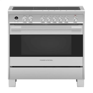 "Fisher & PaykelInduction Range 36"", Self-Cleaning"