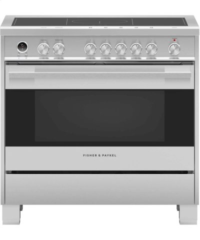 """Induction Range 36"""", Self-Cleaning Product Image"""