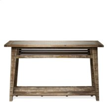 Sofa Table Rough-hewn Gray finish
