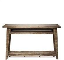 Sofa Table Rough-hewn Gray finish