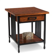 Drawer End Table - Ironcraft Collection #11207