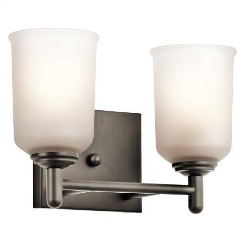 Shailene 2 Light Vanity Light Olde Bronze®